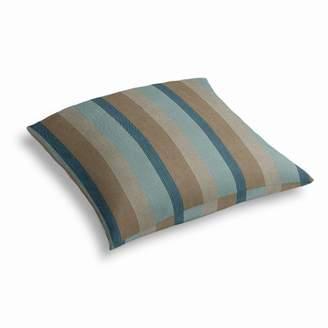 Loom Decor Simple Outdoor Floor Pillow Sunbrella® Gateway - Mist