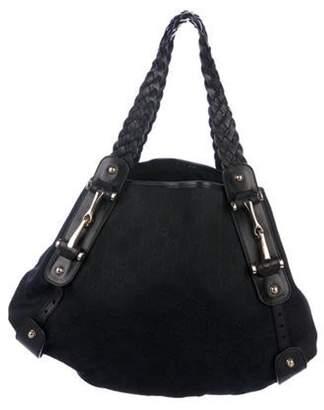 Gucci GG Canvas Medium Pelham Bag Black GG Canvas Medium Pelham Bag
