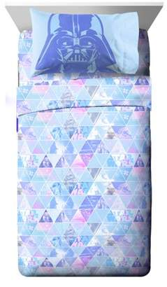 Star Wars Celestial Logo Girl Twin Sheet Set