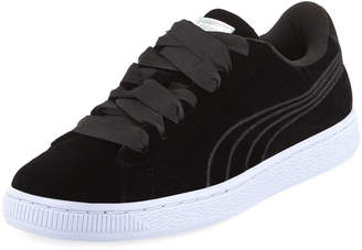 Puma Basket Classic Velour Sneakers