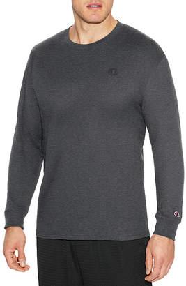 Champion Jersey Long Sleeve Crew Neck T-Shirt-Athletic