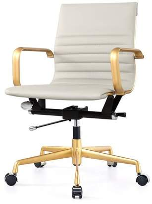 Meelano Vegan Leather Office Chair
