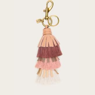 The Frye Company Cotton Tiered Tassel Keychain