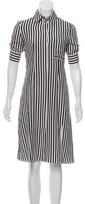 Altuzarra Striped Silk Shirtdress