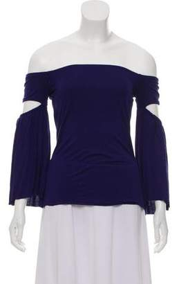 Bailey 44 Off-The-Shoulder Long Sleeve Top