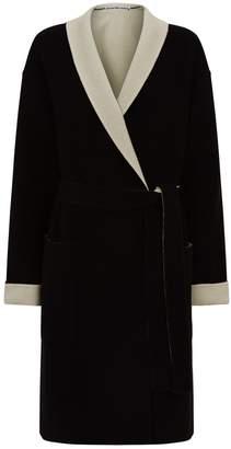 Alexander Wang Logo Wool Coat
