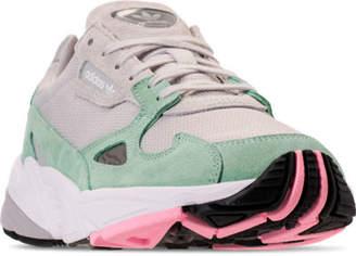 adidas Women's Falcon Suede Casual Shoes