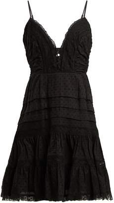 Zimmermann Iris lace-insert camisole dress
