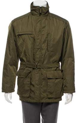 Prada Sport Padded Zip-Up Jacket