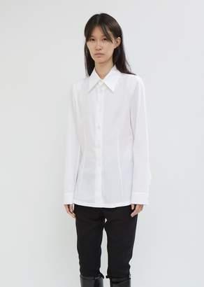 Ann Demeulemeester Rigatino Button Front Shirt