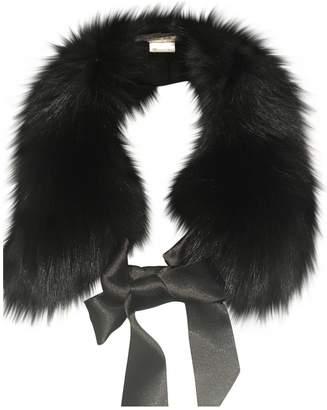 602c5c104 Gerard Darel Black Fur Scarves