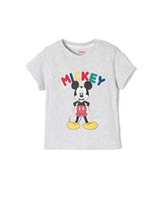 Camilla And Marc ZIPPY Baby Boys' ZTB03L11_455_1 T - Shirt Light Grey Melange 1068, (74 cm)