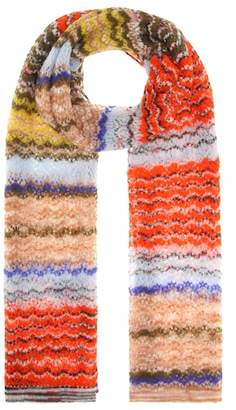 Missoni Mohair and alpaca-blend scarf