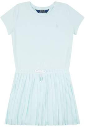 Polo Ralph Lauren Pleated T-Shirt Dress