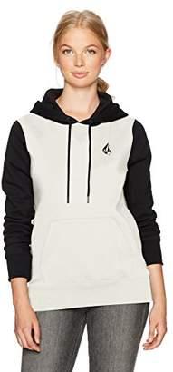 Volcom Women's Slidin' Pullover Hoody Fleece Sweatshirt