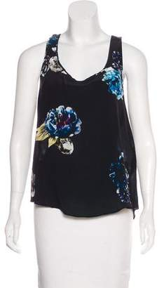 AllSaints Sleeveless Floral print Top