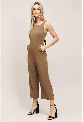 Dynamite Dakota Tie Back Jumpsuit Cub