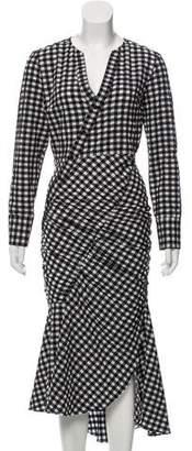 Rachel Comey Hightail Gingham Print Dress w/ Tags