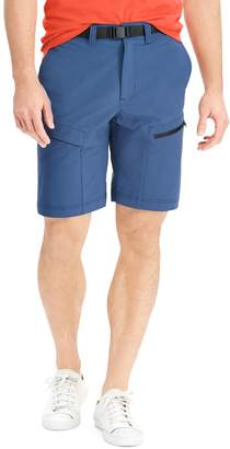 Chaps Men's Classic-Fit Stretch Belted Cargo Shorts