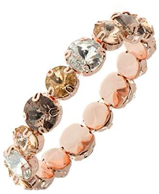 Anne Klein Women's Stone Stretch Bracelet