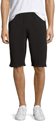 ATM Anthony Thomas Melillo French Terry Pull-On Shorts, Charcoal