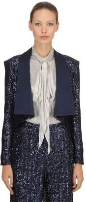 Sequined Bolero Jacket