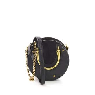 Chloé Pixie Blue Suede Handbag