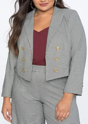 Plus Size Houndstooth - ShopStyle