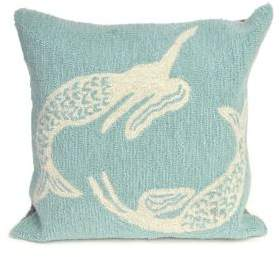 Frontporch Mermaids Indoor and Outdoor Square Pillow