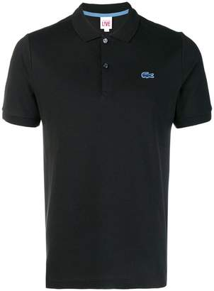 Lacoste Live logo patch polo shirt