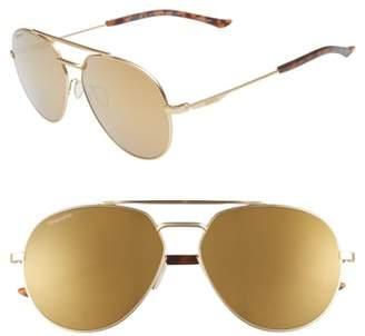 Smith Westgate 60mm ChromaPop(TM) Polarized Aviator Sunglasses