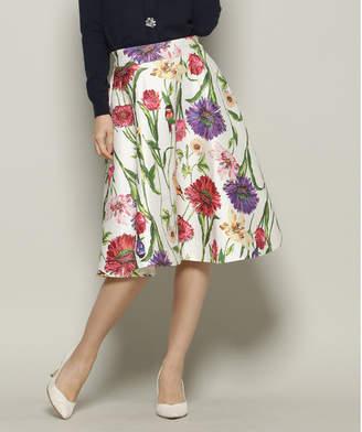 And Couture (アンド クチュール) - アンドクチュール ビックフラワーフレアスカート(65丈)