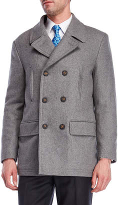 Lauren Ralph Lauren Luke Double-Breasted Overcoat