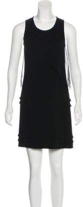 Yigal Azrouel Crossover-Accented Mini Dress