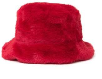 Steve Madden Faux Fur Bucket Hat