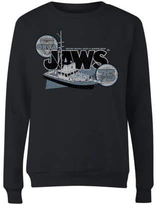 Orca Jaws 75 Women's Sweatshirt - Black