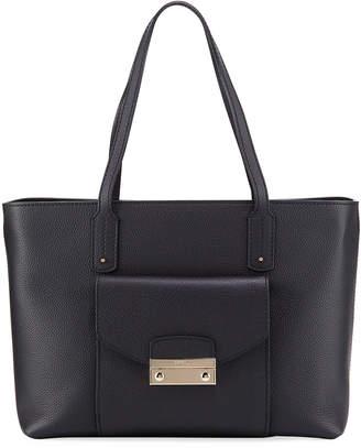 Furla Julia Medium Pebbled Leather Tote Bag