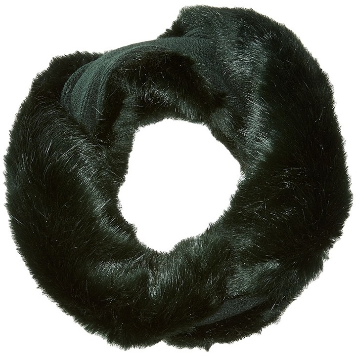 Echo Design - Solid Faux Fur Neckwarmer Scarves