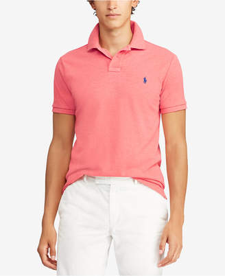 Polo Ralph Lauren Men Custom Slim-Fit Cotton Mesh Polo Shirt