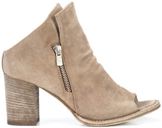 Officine Creative peep toe boots