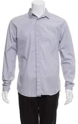 Christian Dior Striped Button-Up Shirt