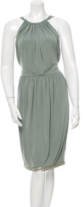 Vera Wang Sequin-Embellished Sleeveless Dress $110 thestylecure.com
