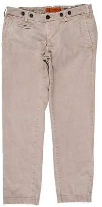 Barena Venezia Cropped Flat-Front jean