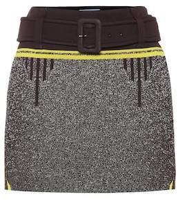 Prada Knitted miniskirt