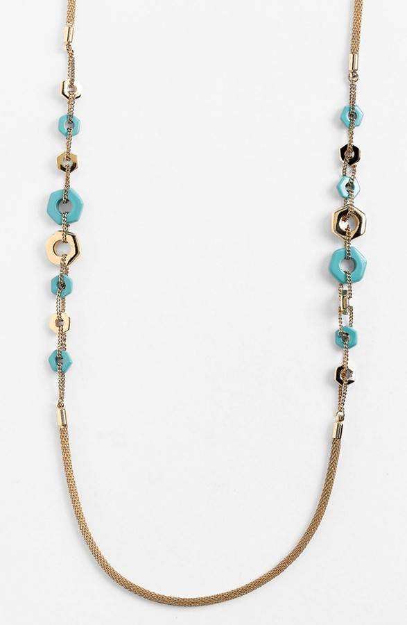 Marc by Marc Jacobs 'Bolts' Long Station Necklace