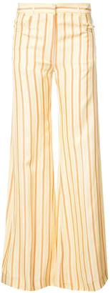 Sonia Rykiel long striped trousers