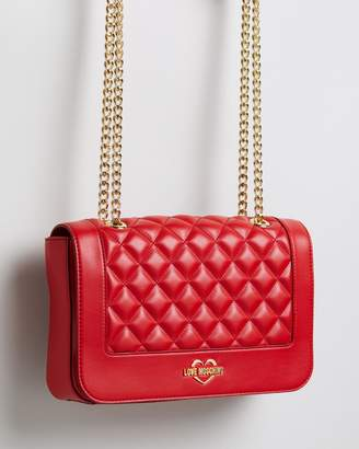 Love Moschino Quilted Chain Crossbody Bag