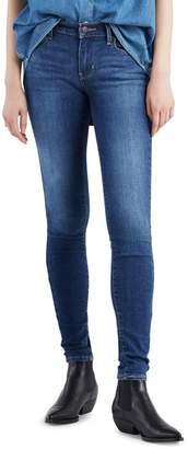 Levi's 710 Super Skinny Mid-Rise Jeans