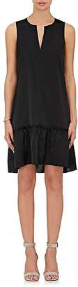 ATM Anthony Thomas Melillo Women's Satin Sleeveless Shift Dress $375 thestylecure.com