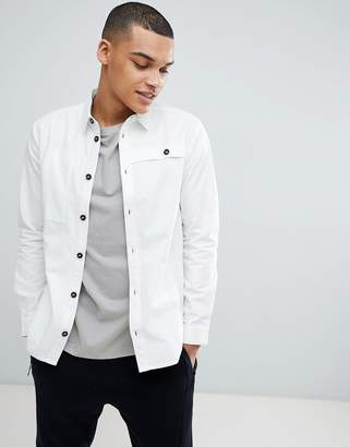 Another Influence Off White Worker Coat